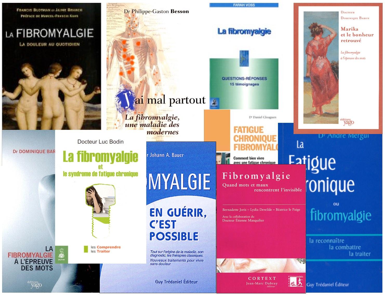 livres sur la firomyalgie